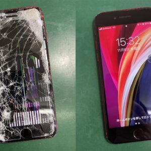 iPhoneSE(第2世代)の画面修理